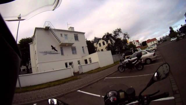 Islandia, Parada técnica en Akureyri