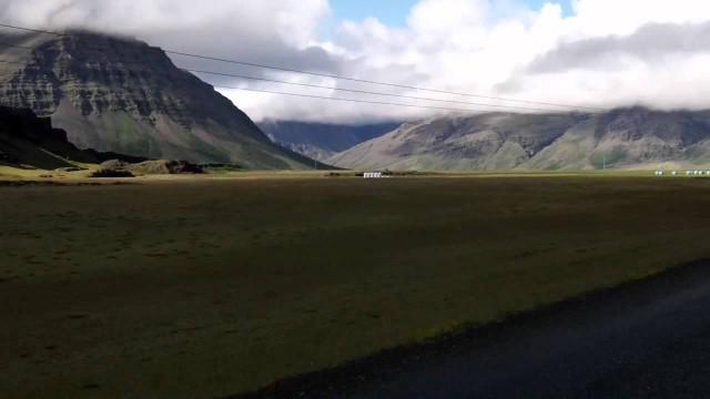 Subidon Paisajistico en Islandia