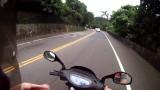 Equipaje en el scooter