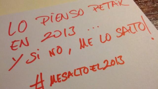 No fliparse con el 2013