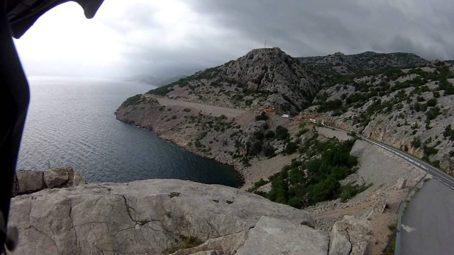 Lluvia en la costa Croata