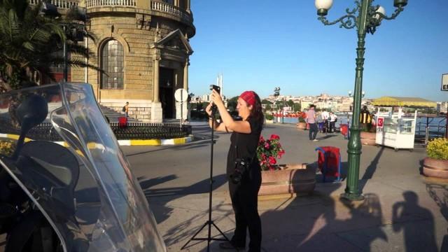 Turisteo en Estambul y sesión de fotos con Almudena Lara